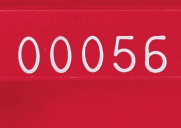 Sequential Numbering Hot Stamp Identification