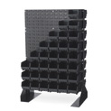 ESD-Safe Louvered Panel Floor Stand LPFS1-CON