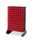 Louvered Panel Floor Stand LPFS2-BST
